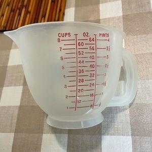 Vintage Tupperware measuring pitcher